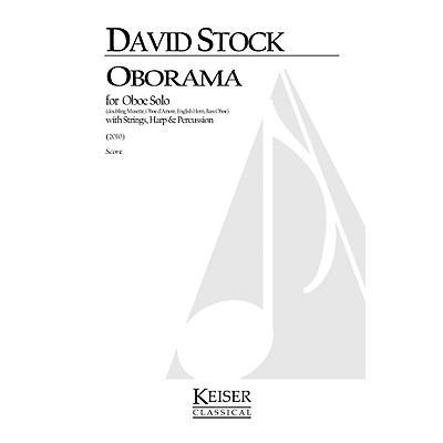 Lauren Keiser Music Publishing Oborama (Oboe Family Solo, Strings, Harp, and Percussion) LKM Music Series by David Stock