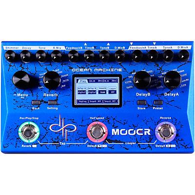 Mooer Ocean Machine Dual Delay Reverb and Looper Multi-Effects Pedal