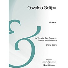 Boosey and Hawkes Oceana (Choral Score Archive Edition) SATB composed by Osvaldo Golijov