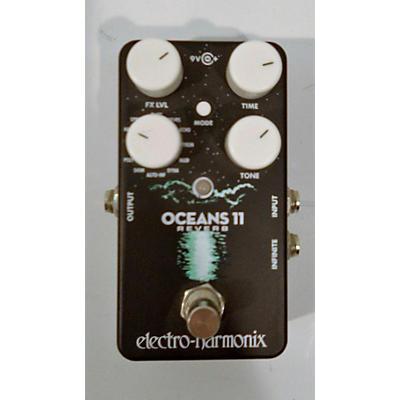 Electro-Harmonix Oceans 11 Reverb Effect Pedal