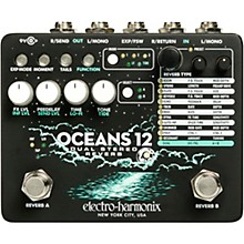 Electro-Harmonix Oceans 12 Dual-Stereo Reverb Effects Pedal