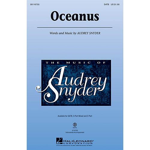 Hal Leonard Oceanus 2-Part Composed by Audrey Snyder