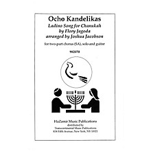 Transcontinental Music Ocho Kandelikas (Eight Little Candles) SA arranged by Joshua Jacobson