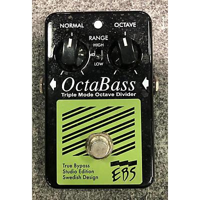 EBS Octabass Triple Mode Bass Octave Divider Bass Effect Pedal