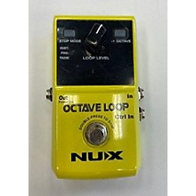 NUX Octave Looper Effect Pedal