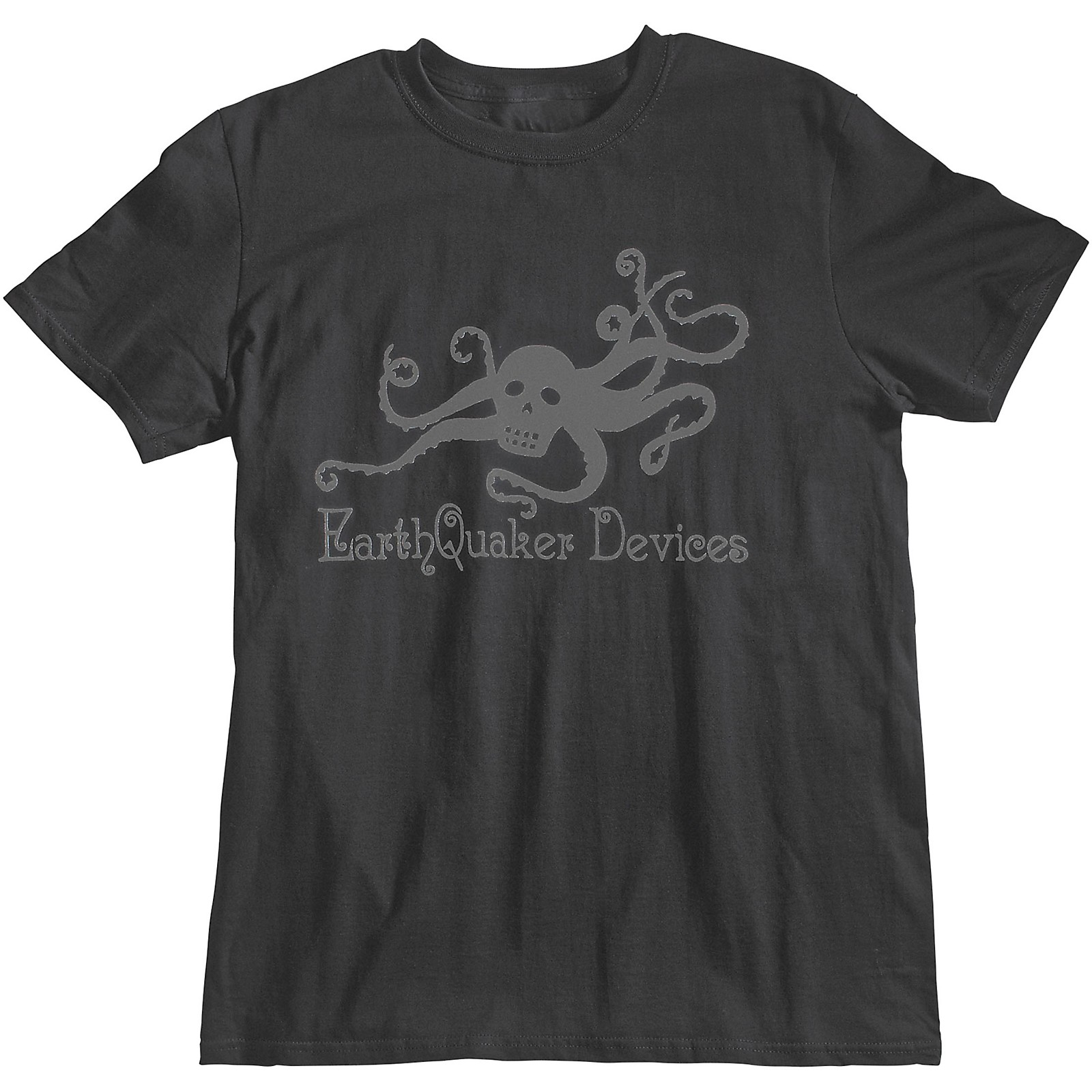 EarthQuaker Devices Octoskull T-Shirt - Asphalt
