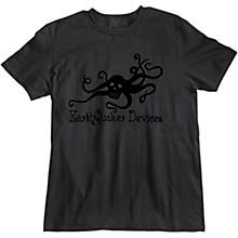 Octoskull T-Shirt - Black on Black Medium