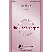 Hal Leonard Oculi Omnium SATTBB A Cappella by The King's Singers composed by Bob Chilcott