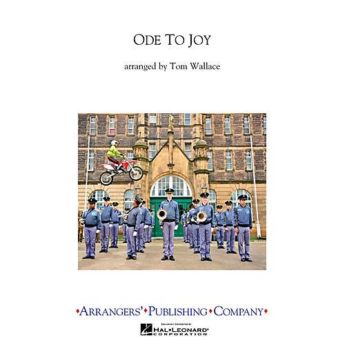 Arrangers Ode To Joy Full Score Marching Band