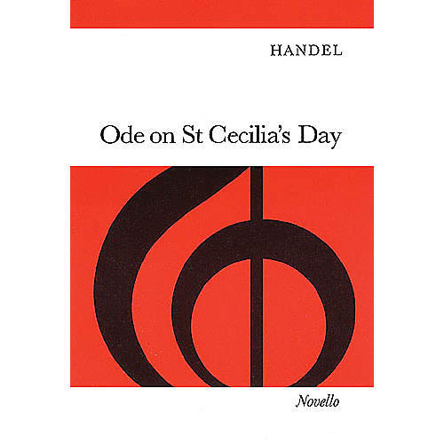 Novello Ode on St. Cecilia's Day (Vocal Score) SATB Composed by George Frideric Handel