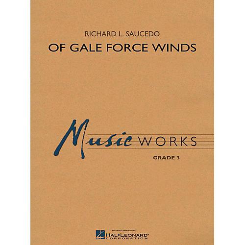 Hal Leonard Of Gale Force Winds - MusicWorks Grade 3 Concert Band