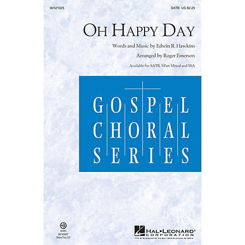 Hal Leonard Oh Happy Day SATB arranged by Roger Emerson