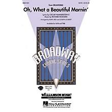 Hal Leonard Oh What a Beautiful Mornin' (from Oklahoma!) TTBB Arranged by Buryl Red