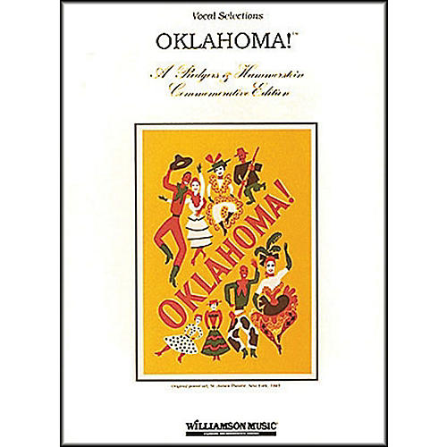 Hal Leonard Oklahoma! Commemorative Edition arranged for piano, vocal, and guitar (P/V/G)