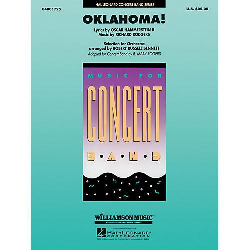 Hal Leonard Oklahoma Full Score Concert Band