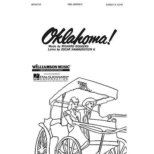 Hal Leonard Oklahoma! (Medley) (SATB) SATB arranged by Clay Warnick