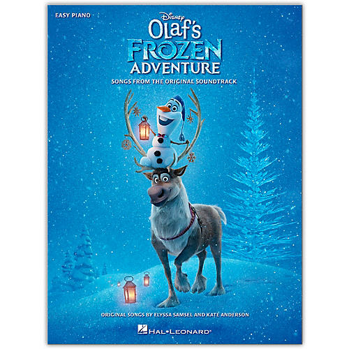 Hal Leonard Olaf's Frozen Adventure - Music from the Motion Picture Soundtrack for Easy Piano
