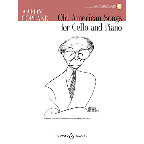Boosey and Hawkes Old American Songs (Cello and Piano) Boosey & Hawkes Chamber Music Series Softcover Audio Online