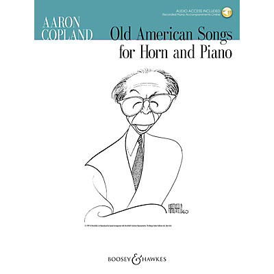 Boosey and Hawkes Old American Songs for Horn and Piano (Book/Online Audio)
