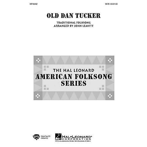 Hal Leonard Old Dan Tucker SATB arranged by John Leavitt