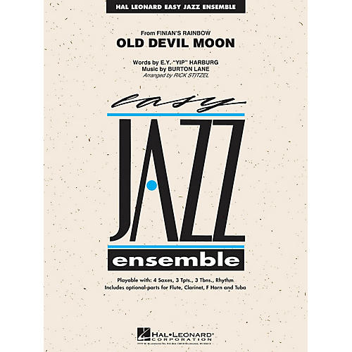 Hal Leonard Old Devil Moon Jazz Band Level 2 Arranged by Rick Stitzel