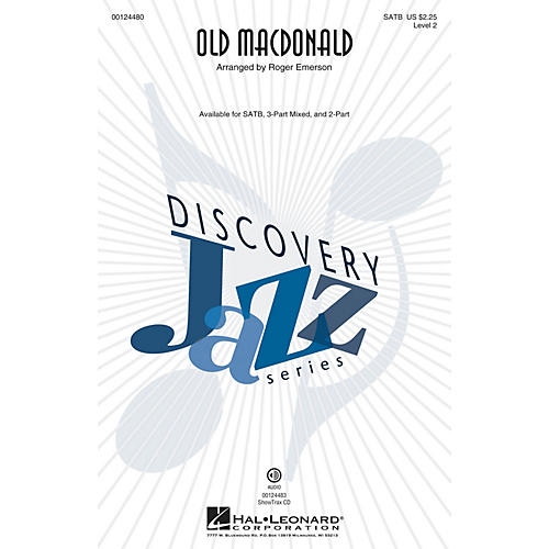 Hal Leonard Old MacDonald (Discovery Level 2) ShowTrax CD Arranged by Roger Emerson