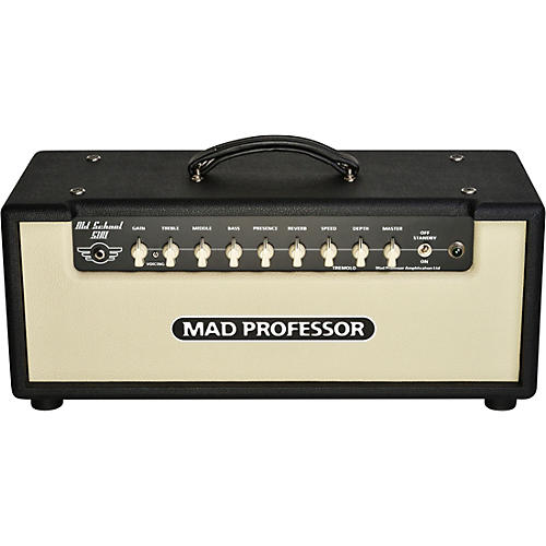 Mad Professor Old School 51 RT-Head 51W Tube Guitar Amp Head Condition 1 - Mint Black and Beige