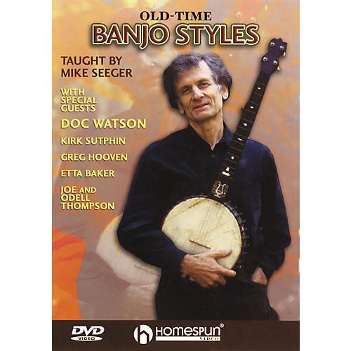 Homespun Old Time Banjo Styles (DVD)