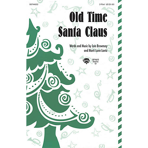 Hal Leonard Old Time Santa Claus ShowTrax CD Composed by Lois Brownsey and Marti Lunn Lantz