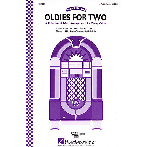 Hal Leonard Oldies for Two (Collection) ShowTrax CD Arranged by Roger Emerson