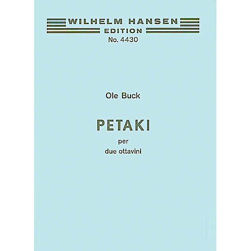 Music Sales Ole Buck: Petaki (Player's Score) Music Sales America Series