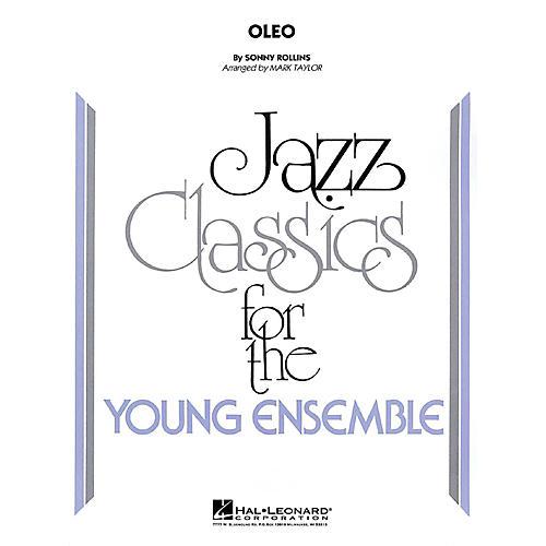 Hal Leonard Oleo Jazz Band Level 3 by Sonny Rollins Arranged by Mark Taylor