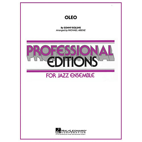 Hal Leonard Oleo Jazz Band Level 5-6 Arranged by Michael Abene