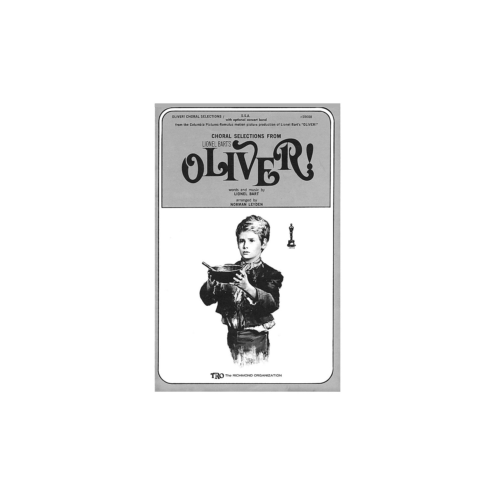 TRO ESSEX Music Group Oliver! (Choral Selections) SSA Arranged by Norman Leyden