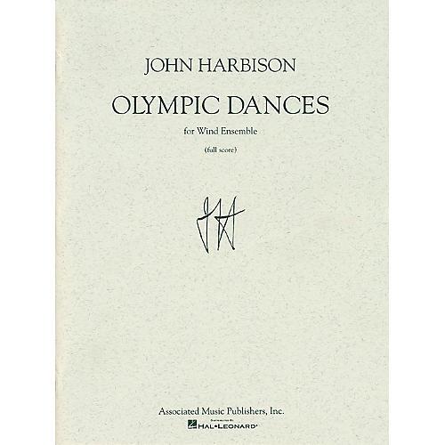 Associated Olympic Dances (Full Score) Full Score Series by John Harbison