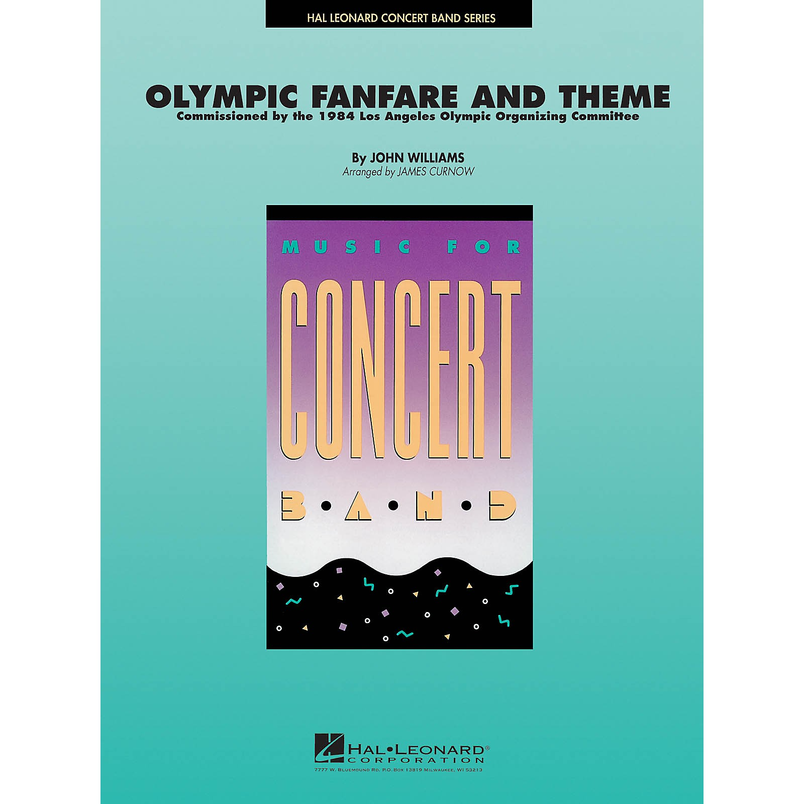 Hal Leonard Olympic Fanfare and Theme Concert Band Level 4 Arranged by James Curnow