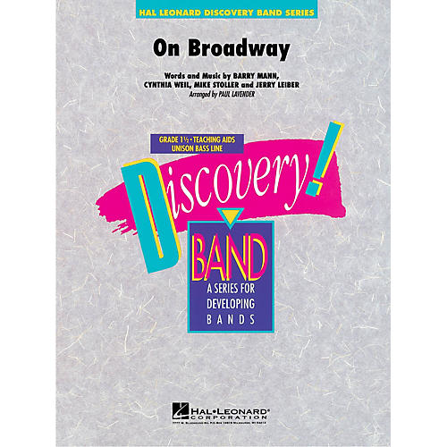 Hal Leonard On Broadway Concert Band Level 1.5 by George Benson Arranged by Paul Lavender
