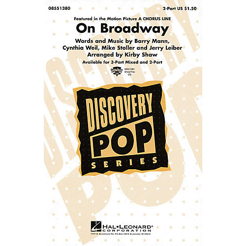 Hal Leonard On Broadway ShowTrax CD Arranged by Kirby Shaw