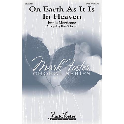 Mark Foster On Earth As It Is In Heaven SATB Double Choir arranged by Rene Clausen