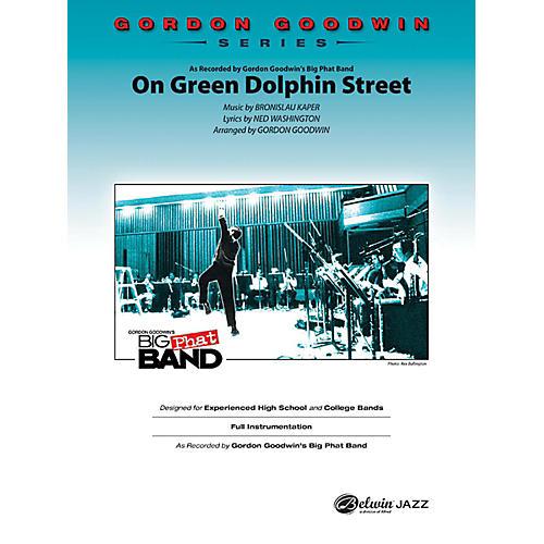 Alfred On Green Dolphin Street Gordon Goodwin Jazz Band Grade 6 Set