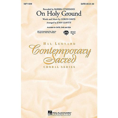 Hal Leonard On Holy Ground SSA by Barbra Streisand Arranged by John Leavitt