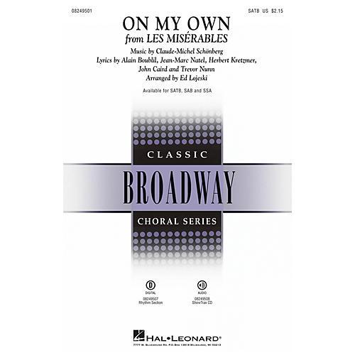 Hal Leonard On My Own (from Les Misérables) ShowTrax CD Arranged by Ed Lojeski