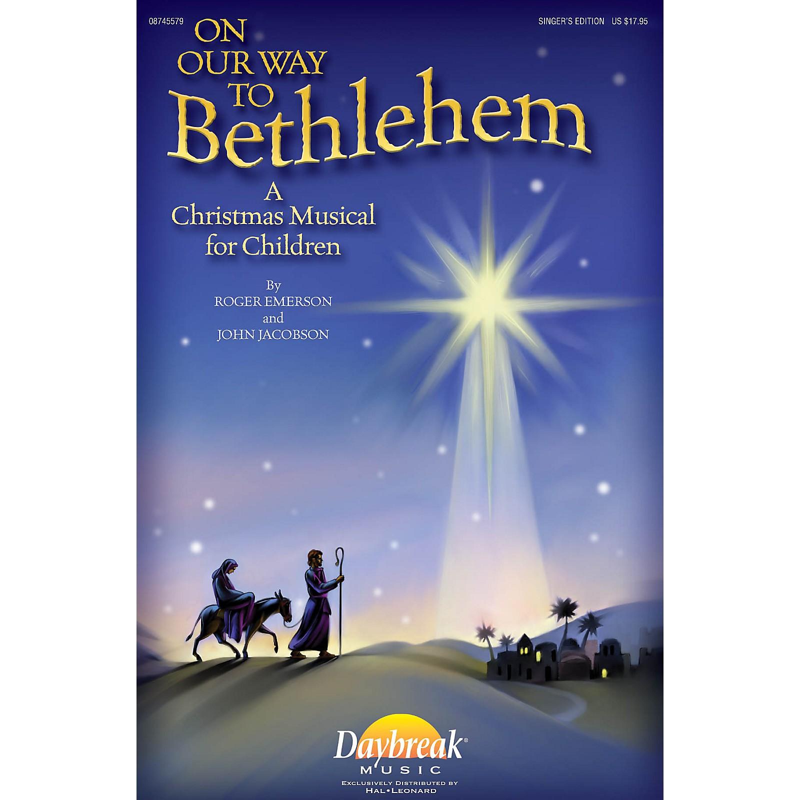 Daybreak Music On Our Way to Bethlehem (A Christmas Musical for Children) Singer 5 Pak by John Jacobson/Roger Emerson