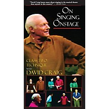 Applause Books On Singing Onstage with David Craig (Class Two: Technique) Applause Books Series Video by David Craig