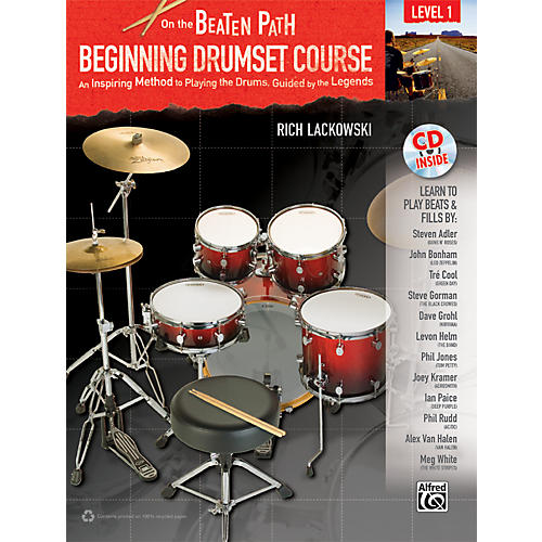 Alfred On the Beaten Path Beginning Drumset Course Level 1 with CD