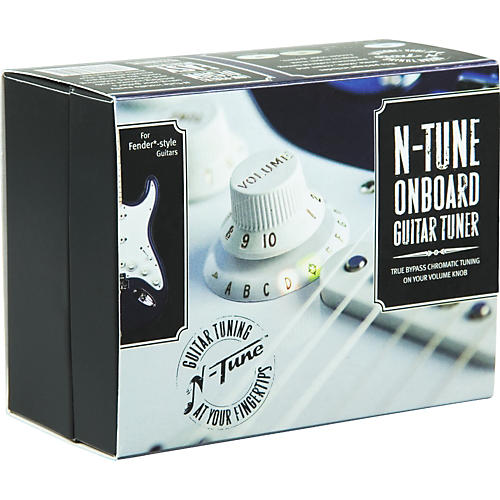 N-Tune Onboard Chromatic Electric Guitar Tuner