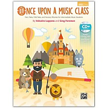 Alfred Once Upon a Music Class Intermediate Book & Enhanced SoundTrax CD Grades 3--6