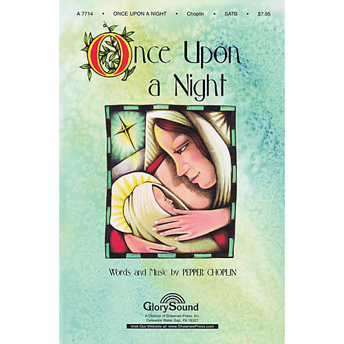 Shawnee Press Once Upon a Night SATB arranged by Brant Adams