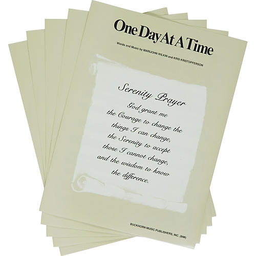 Alfred One Day at a Time Sheet Music