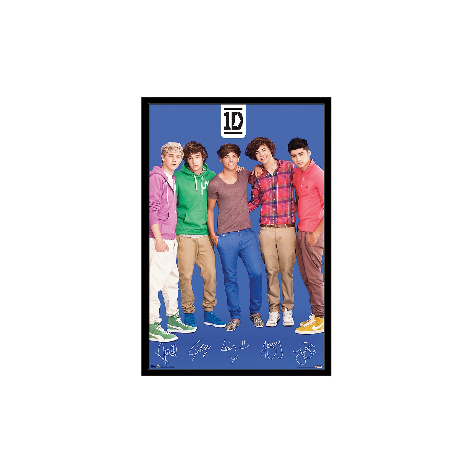 Trends International One Direction - Blue Poster